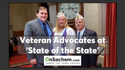 Assemblyman Smith Welcomes Veteran Advocates to the 'State of the State'
