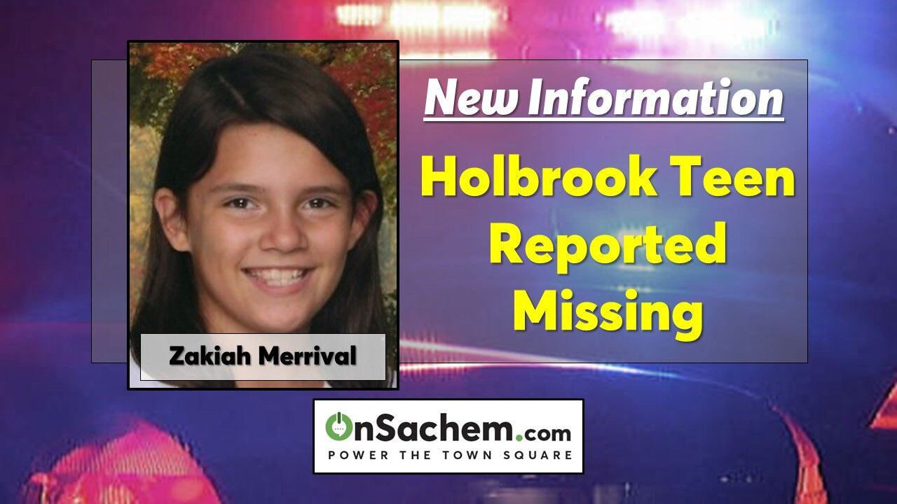 Zakiah Merrival, 13, of Holbrook reported missing, last seen at her Ballad Circle home