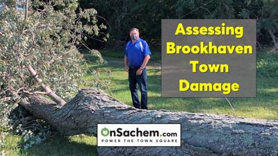 Storm damage assessed in Town of Brookhaven