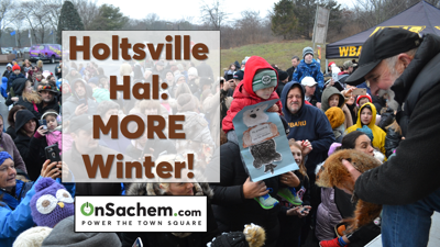 Holtsville Hal Predicts Six More Weeks of Winter