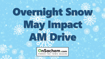 Overnight Snow May Impact AM Drive