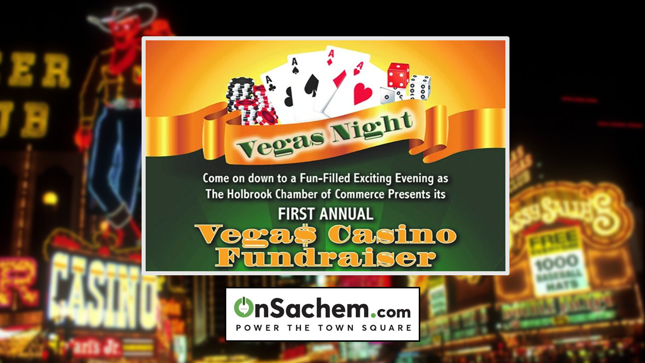 Holbrook Chamber's Vegas Casino Fundraiser to Benefit Community Beatification, Jan. 31