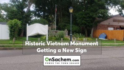 New sign dedication on Saturday for historic 'Holbrook Vietnam Monument'