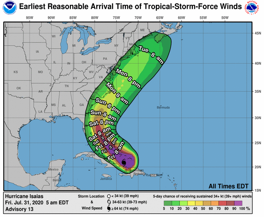 2020-07-31 - Hurricane Isaias - 2 - 085728_earliest_reasonable_toa_34.png