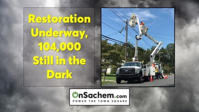 PSEG LI outages down by 4,000 since 9:30 p.m. Thursday; Over 100,000 customers remain powerless tonight