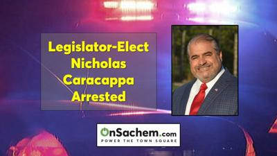 Suffolk Legislator-Elect Nicholas Caracappa arrested, charged with domestic violence: Police