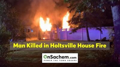 Holtsville man killed in house fire