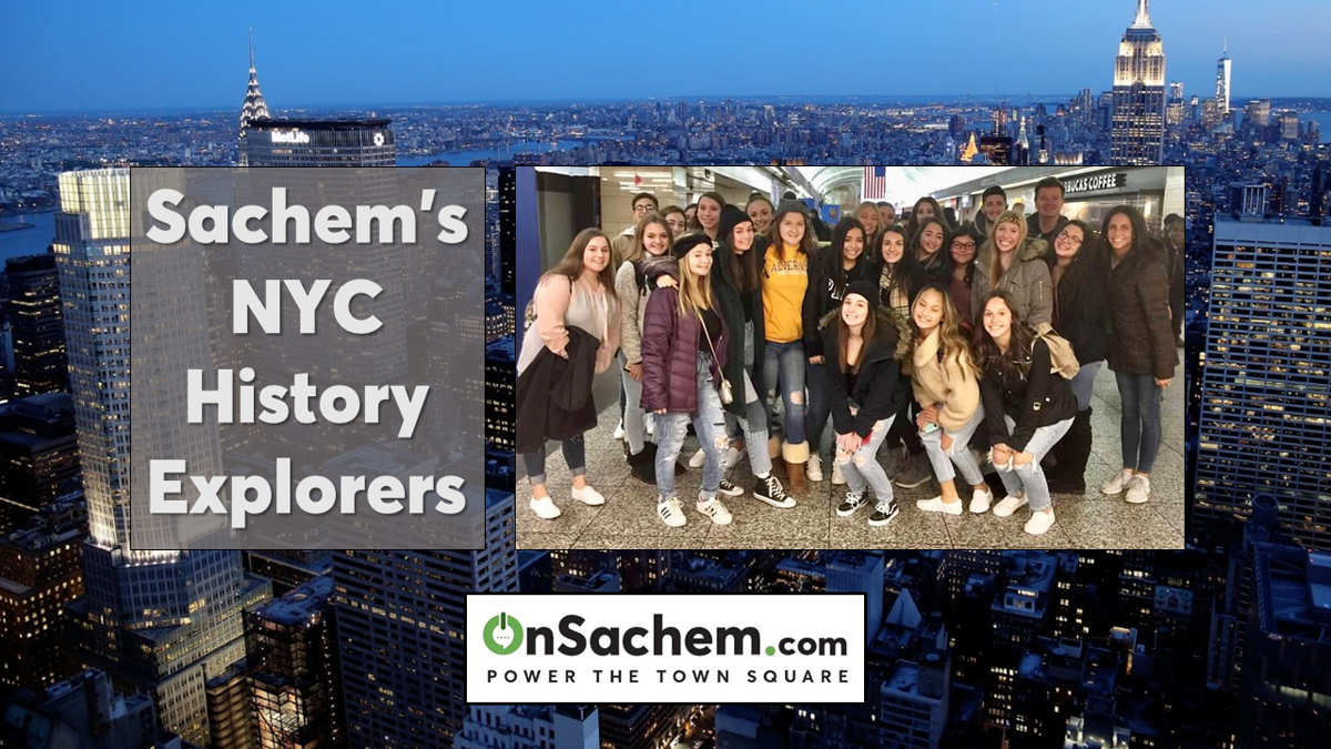 Sachem Students Explore New York City's Historic Locations
