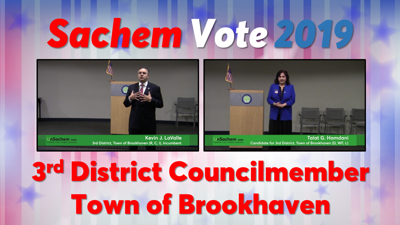 VIDEOS: Meet the Candidates for 3rd District Councilmember, Town of Brookhaven