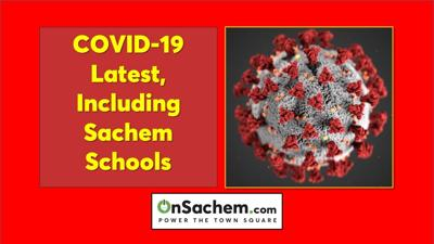 COVID-19 Spread: The latest cases for Suffolk, local communities, and Sachem Schools