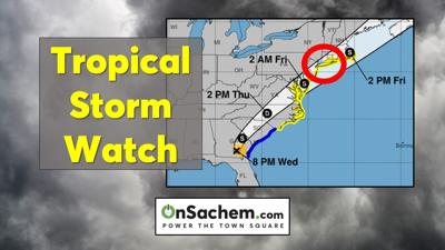 Tropical Storm Watch in effect for Long Island, Elsa headed our way