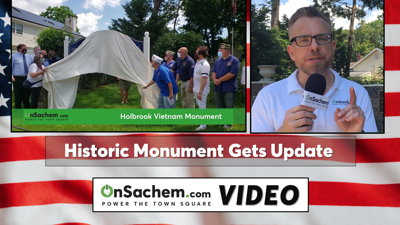 VIDEO: Community updates historic 'Holbrook Vietnam Monument'