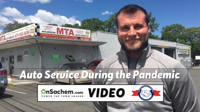 VIDEO: Keeping auto service safe in Holbrook during the pandemic