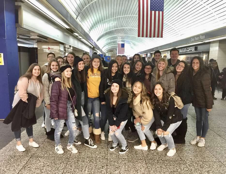 Sachem Students Explore New York City Historic Locations - Penn Station