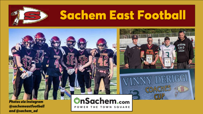 Win for Sachem East Football vs. Brentwood on Oct. 19