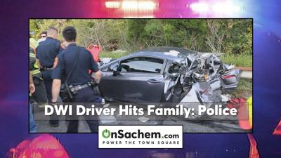 Young family seriously hurt after struck by alleged DWI driver