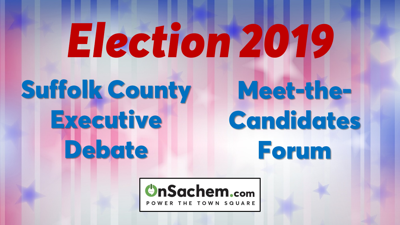 Big Campaign Night: Suffolk Executive Debate and Meet-the-Candidates Forum, Wednesday, Oct. 23