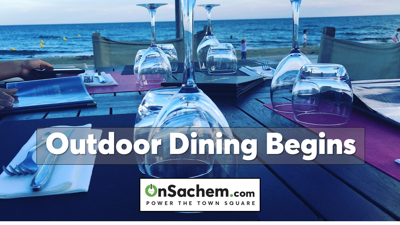 Outdoor dining opens today as Long Island enters phase two