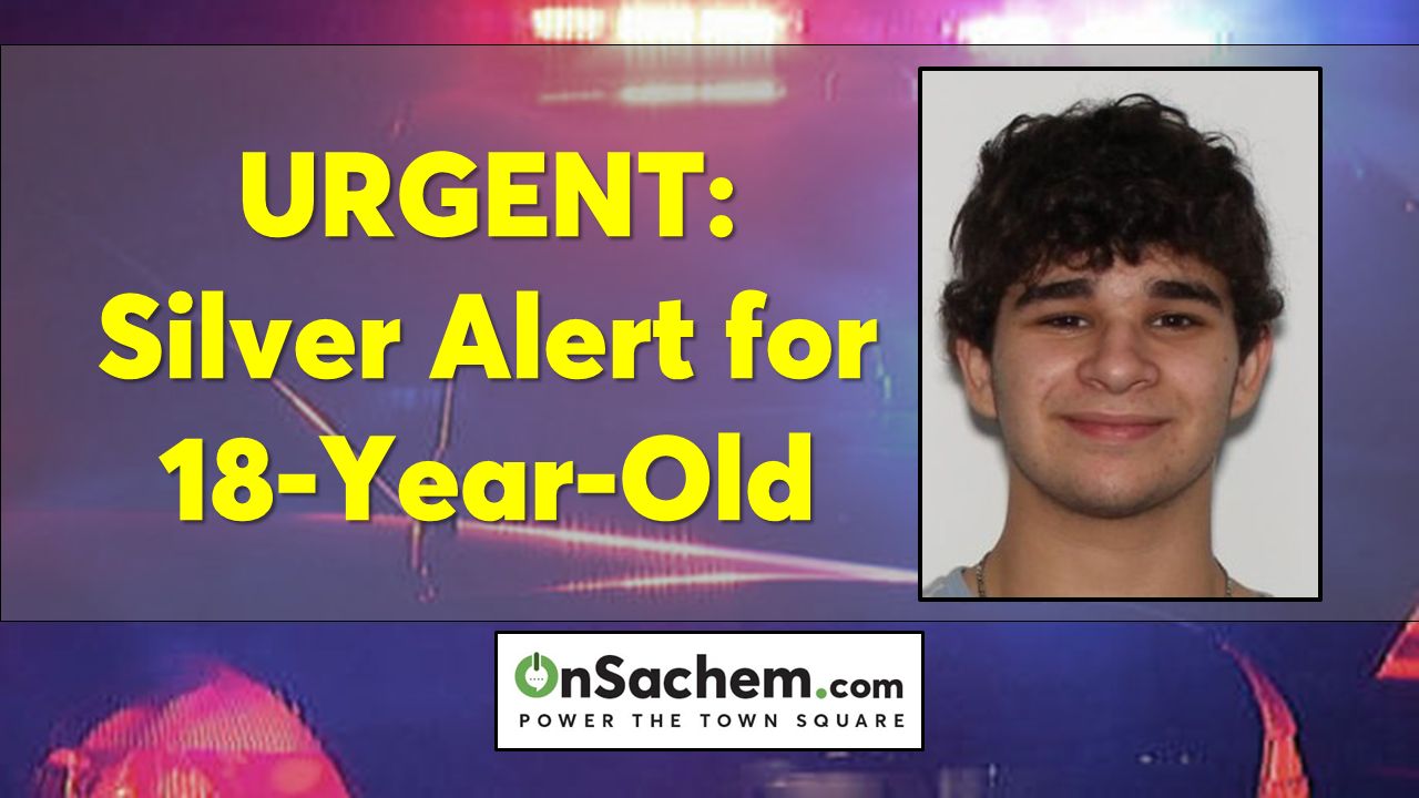 Suffolk Police issue 'Silver Alert' for 18-year-old Ryan Hayde of Middle Island