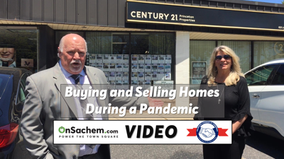 VIDEO: Want to buy or sell a home? Holbrook realtor explains 'phase 2' reopening during the pandemic