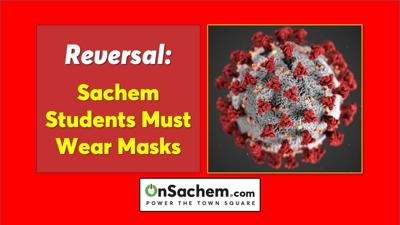 Sachem students must mask-up again
