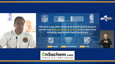 NY professional sports can begin spring training today: Cuomo