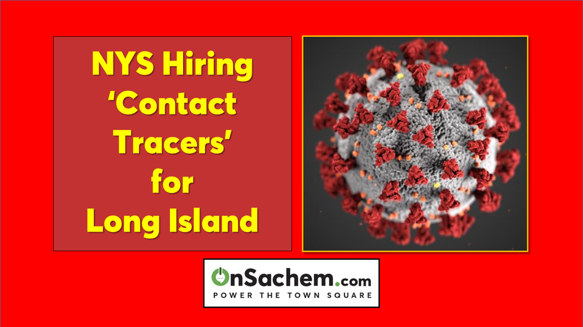 Help wanted: 'Contact Tracers' needed for Long Island
