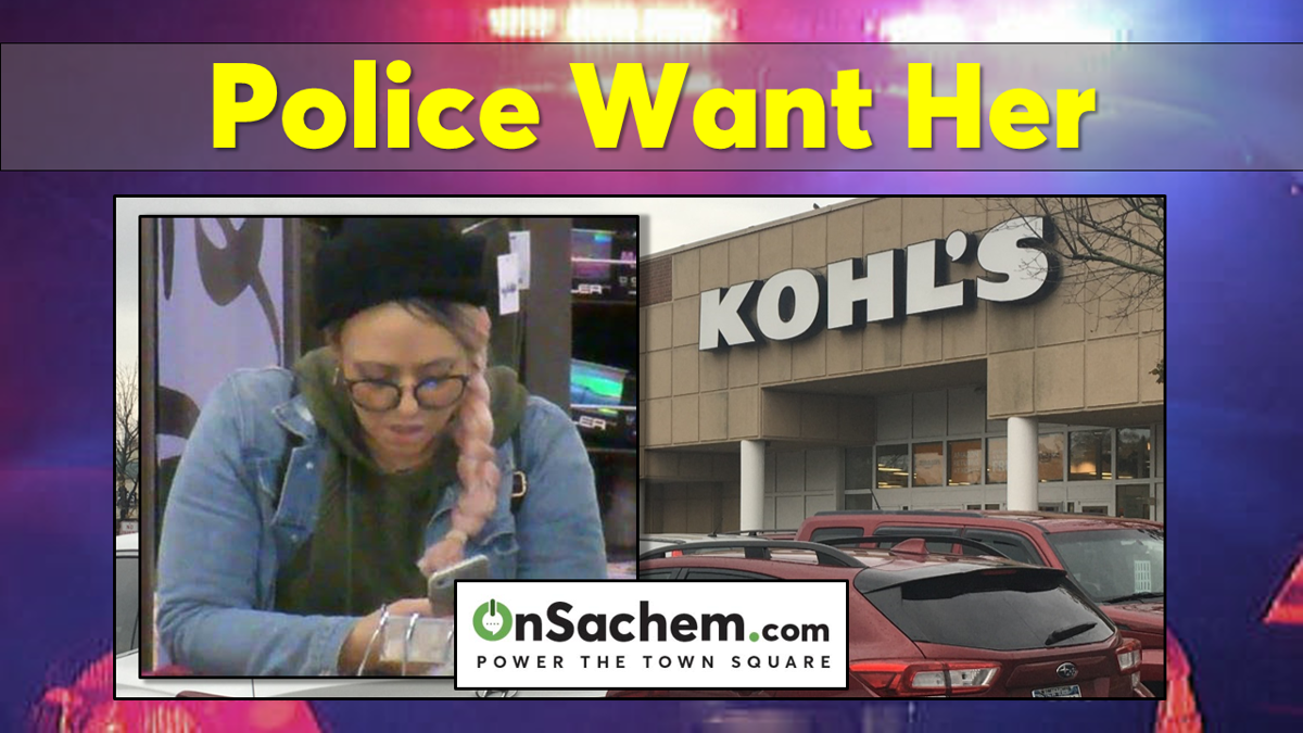 Do You Know Her? Police Say She Stole Clothing From Kohl's