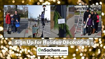 Volunteers needed for holiday lamppost decorating in Farmingville