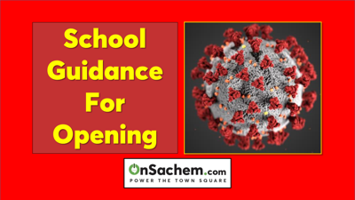 New York education officials say extensive public input part of newly released guidance for school reopening