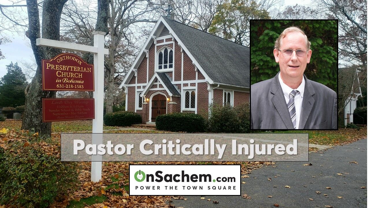 Church pastor critically injured in fall: Police