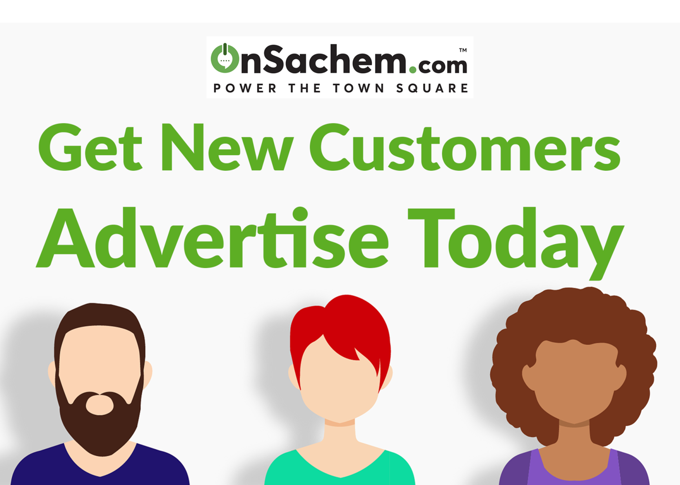 Get New Customers. Advertise Today.