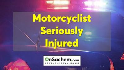 Unlicensed driver crashes into motorcyclist in North Patchogue