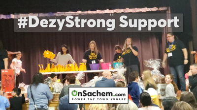 PICS AND VIDEO: Hiawatha PTA Fundraiser Brings a Special Twist: Support for #DezyStrong