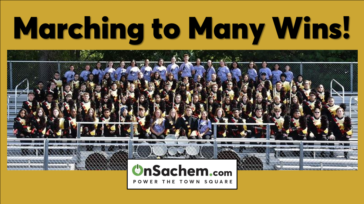 Sachem Arrows Marching Band Wins—Again! See All the Pics