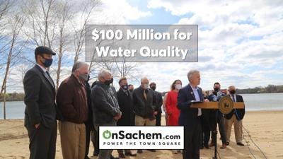 Lake Ronkonkoma serves as backdrop for Suffolk's 'historic' $100 million water quality announcement