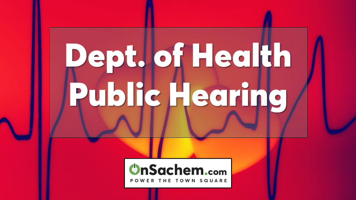Suffolk County Dept of Health Public Hearing, Oct. 22