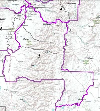 New 5th Congressional District for 2022 election
