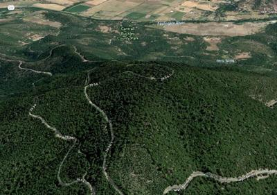 Negro Ben Mountain in Jackson County