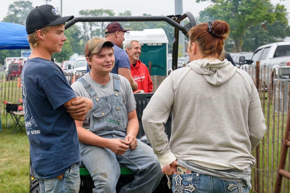 Hundreds attend the 2021 Brookyn Truck and Tractor Pull