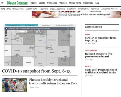 Observer new site