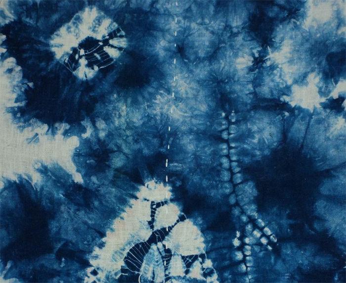 Japanese Shibori Print