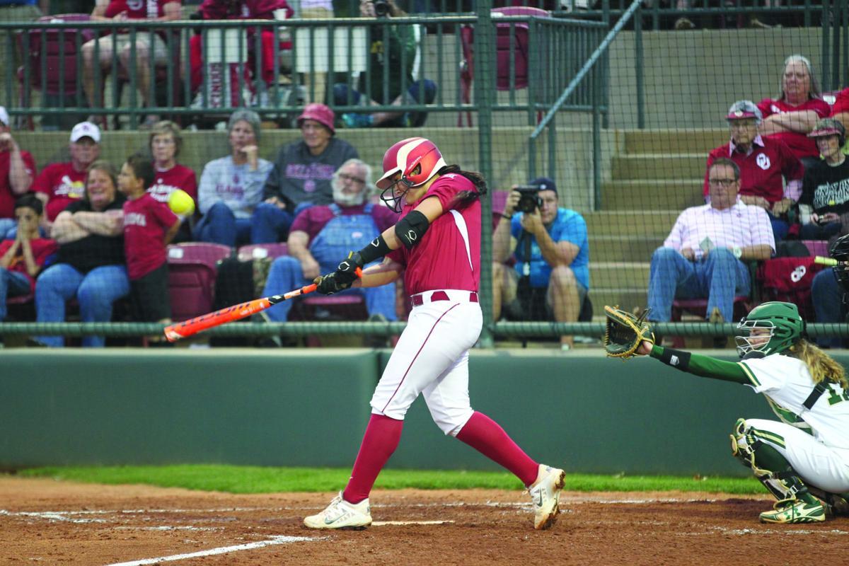 OU softball: Lauren Chamberlain wants to send message with