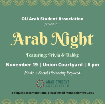 Arab Night flier