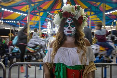 Sugar Skull makeup Day of the Dead