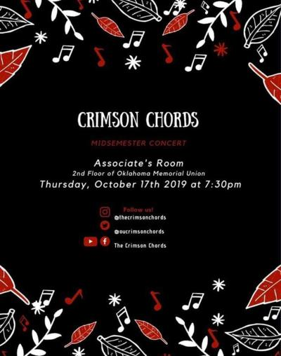crimson chords flyer