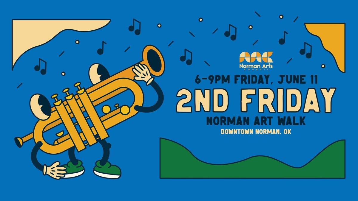 2nd Friday Norman Art Walk to host local artists, businesses following return to in-person events