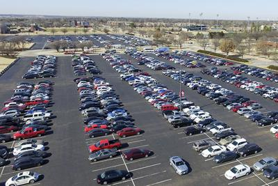 Lloyd Noble Parking Lot (copy)