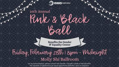 16th Pink and Black Ball
