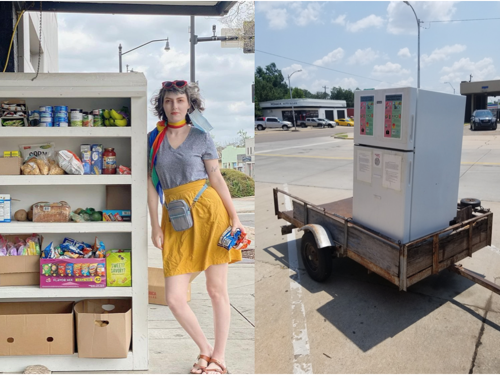 Downtown community fridge relocation sparks questions on code enforcement, reveals broader issues on homelessness